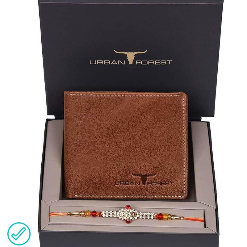 Rakhi Gift for Brother Wallet