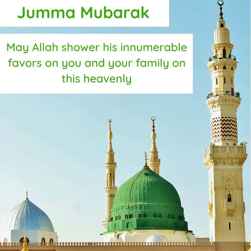 Jumma Mubarak Quotes Images