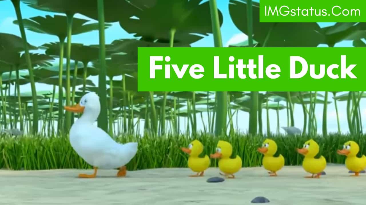 Five Little Duck lyrics