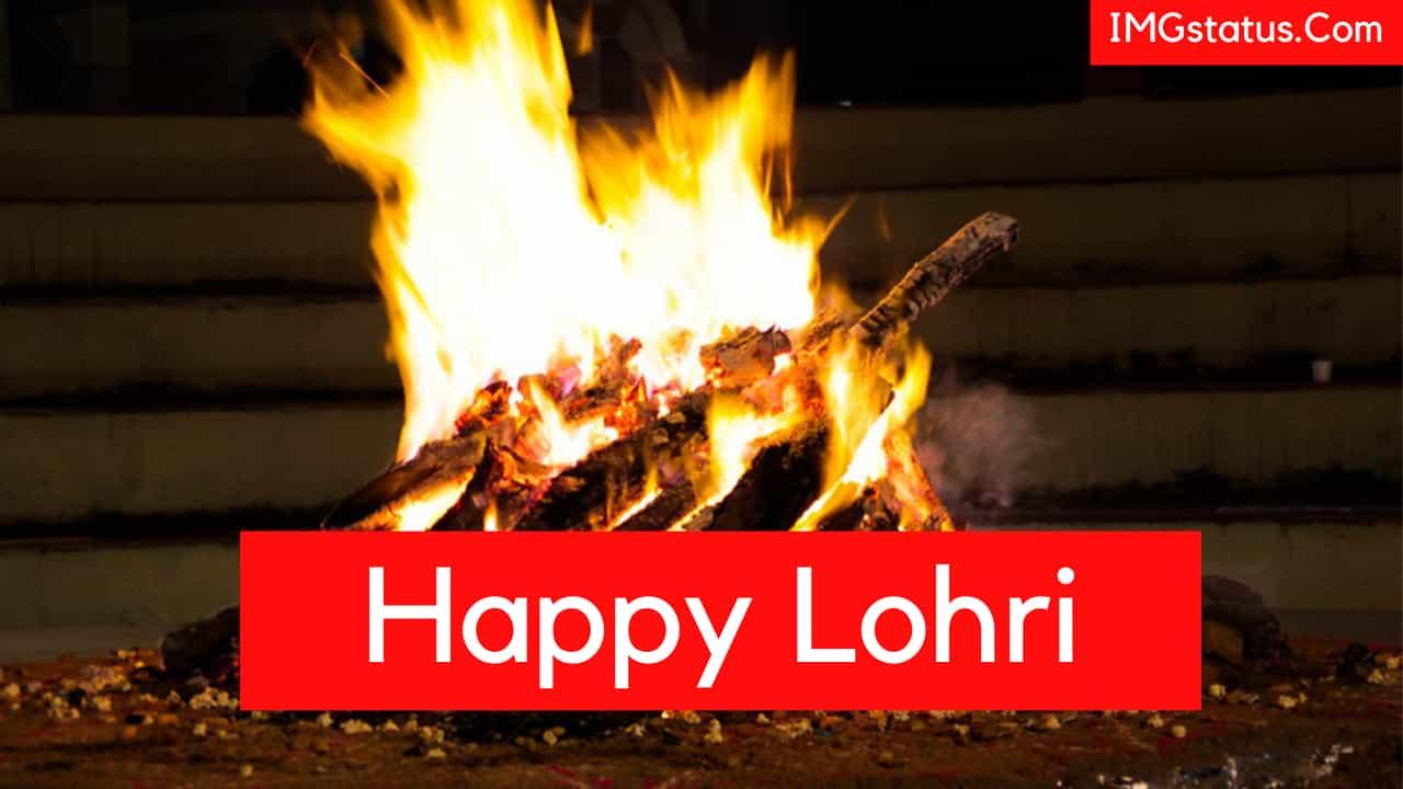 Happy Lohri Wishes Status English