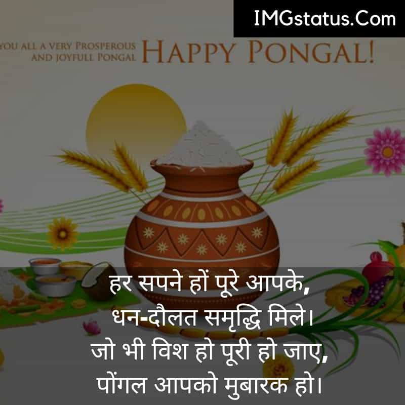 Happy Pongal Images in Hindi
