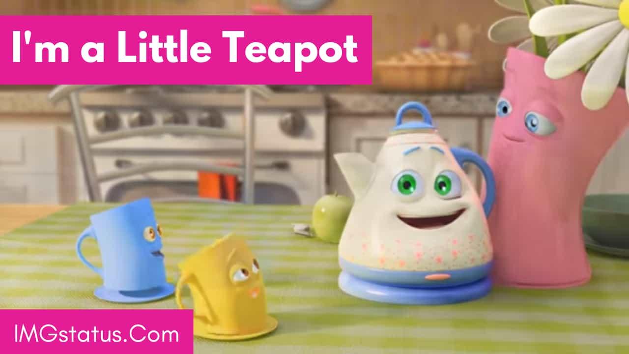 Im a Little Teapot lyrics
