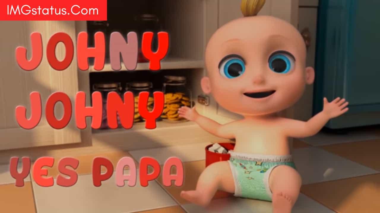 Johny Johny Yes Papa Poem Lyrics