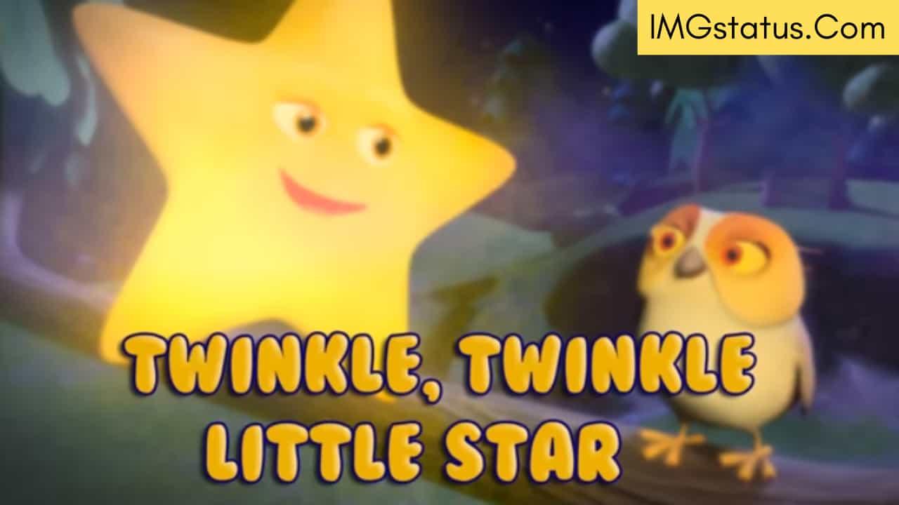 twinkle twinkle little star lyrics