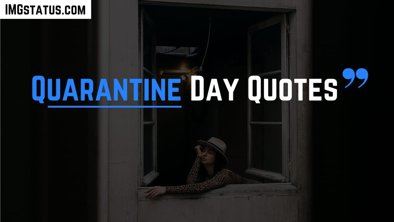 Quarantine Day Quotes