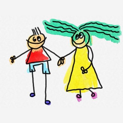 Cartoon DP for Love