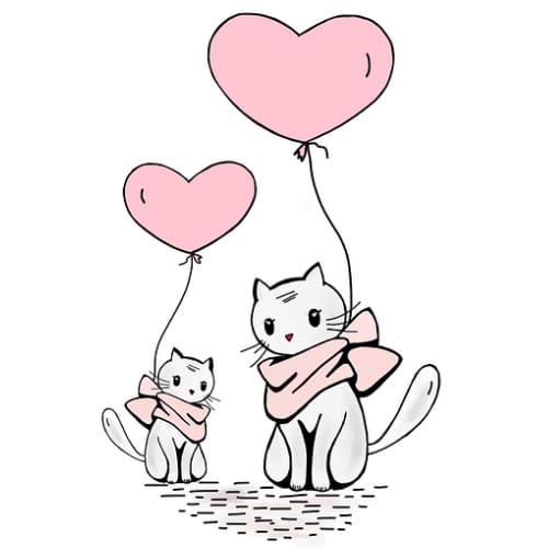 Love Cartoon DP for WhatsApp