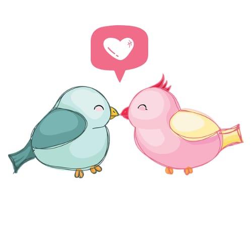 Romantic Cartoon DP