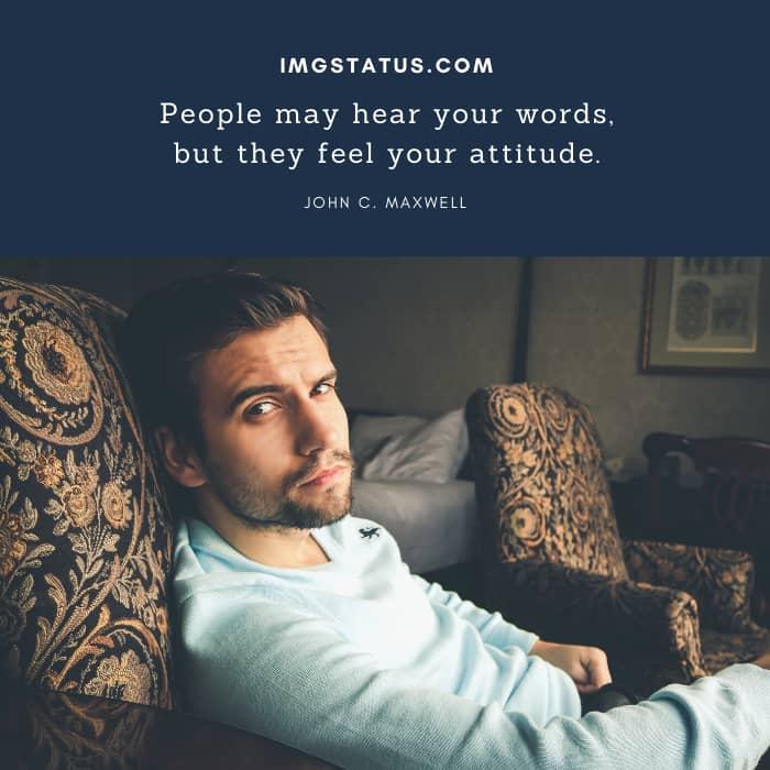 Attitude Status for Boys