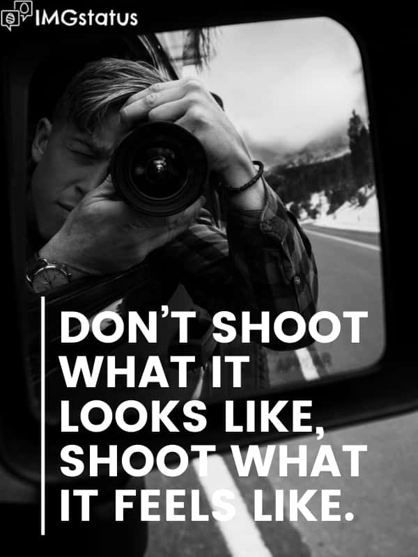 Black & White Photography Captions and Quotes