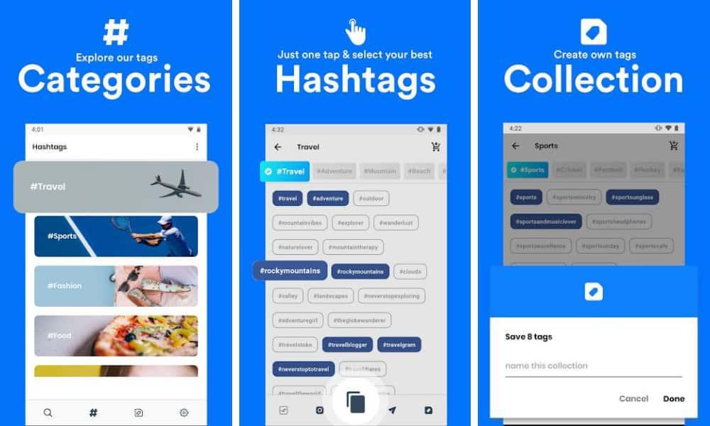 Hashtag for Instagram App